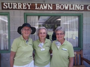 Winners - Ladies Triples V & D Tournament